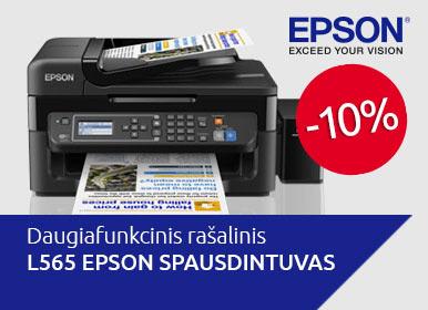 Akcija - L565 EPSON spausdintuvas