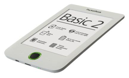 "READER INK 6"" 4GB BASIC 614/WHITE PB614W-D-WW POCKET BOOK"