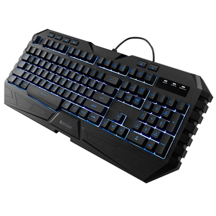 CM Storm Octane combo pack, MB7C gaming mouse and MS35 gaming keyboard, 7 LED color options, anti-slip surfaces and grips, US/RU layout