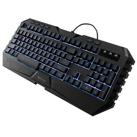 Klaviatūros ir pelės rinkinys Storm Octane, MB7C pelė ir MS35 klaviatūra žaidimams, 7 LED spalvos, anti-slip, grips, US/RU