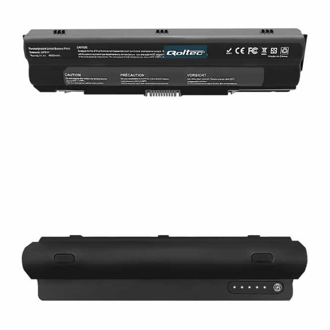 Nešiojamo kompiuterio baterija Qoltec Dell XPS 14 15 17 L501x | 11.1 V | 6600mAh