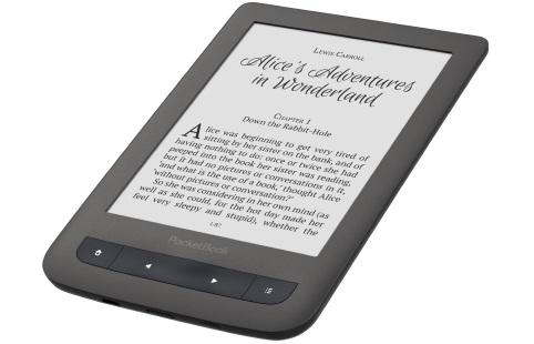 "READER INK 6"" 4GB TOUCH LUX3/GREY PB626(2)-Y-WW POCKET BOOK"