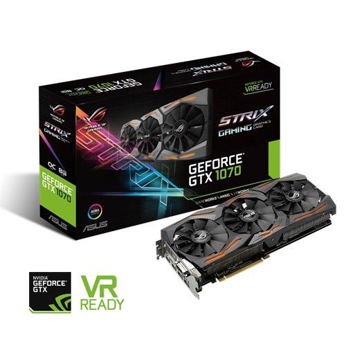 Vaizdo pl. GeForce GTX 1070 8192MB DDR5 2xHDMI/DVI/2xDP (PCIE3.0, 256bit) /asdow