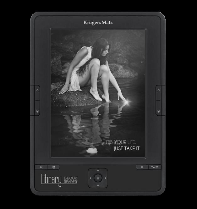 Kruger&Matz e-book reader Library KM0199