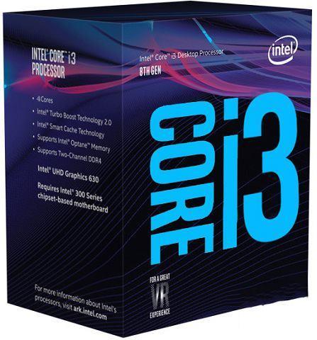 Procesorius Core i3-8100 3600MHz, 6MB, s1151, 65W, box