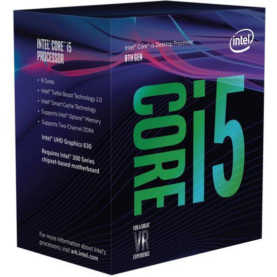 Procesorius Core i5-8600K 3600MHz, 9MB, UHD 630, s1151, box