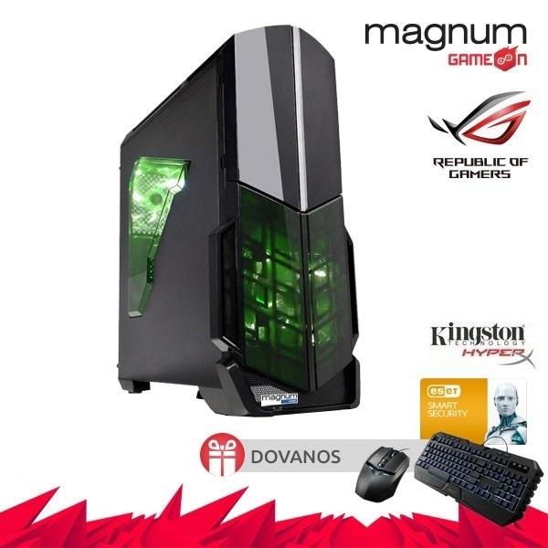 Kompiuteris Magnum GameOn Core I5-7400 4x3.0GHz/8GB DDRAM4/240GB SSD/GeForce GTX 1050 2GB/GLAN