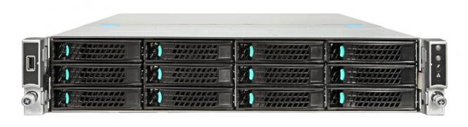 Serveris Magnum Server R2312 Xeon E5-2620V3/32GB/6x1000GB SAS/RAID/RMM/2x10GBe LAN/DVD/1+0x1100W PSU (2U rack)