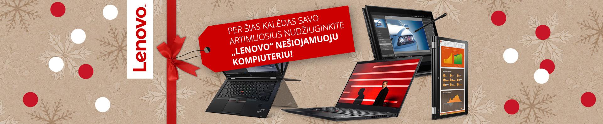 Plačiausias Lenovo kompiuterių pasirinkimas