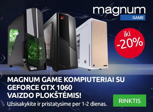 Akcija - Magnum Game kompiuteriai iki -20% nuolaida